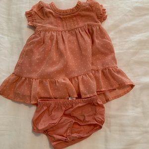 Like new dress size 3-6 months